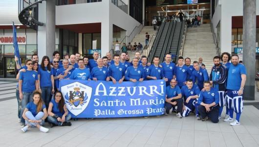 Stampa serigrafica magliette Azzurri Pallagrossa e banner con anelli