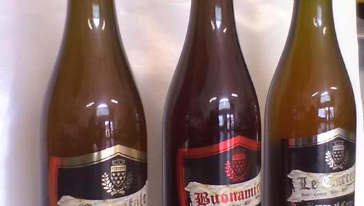 Grafica etichette Birra Borgo al Cornio