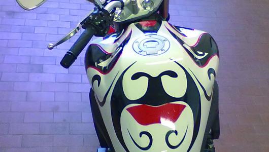 serbatoio maschera
